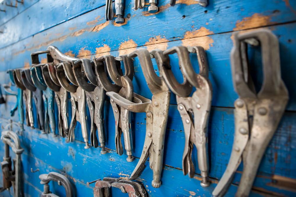 foto werkplaats Autoschade De Nude